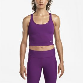 WMNS IMPULSE CROP TOP GRAPE