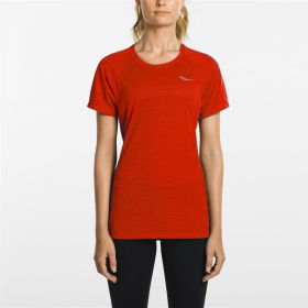 HYDRALITE SHORT SLEEVE FIERY RED